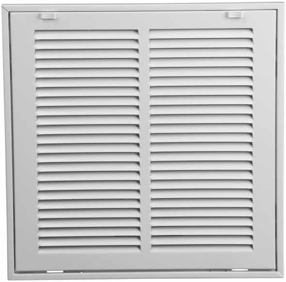 12x12 Return Air Filter Grille Stamped Steel Face