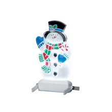 Lemax Village Collection Yard Light - Snowman #04242
