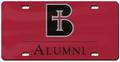 License Plate - Alumni
