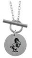 Necklace - Toggle Dangle (Silver)