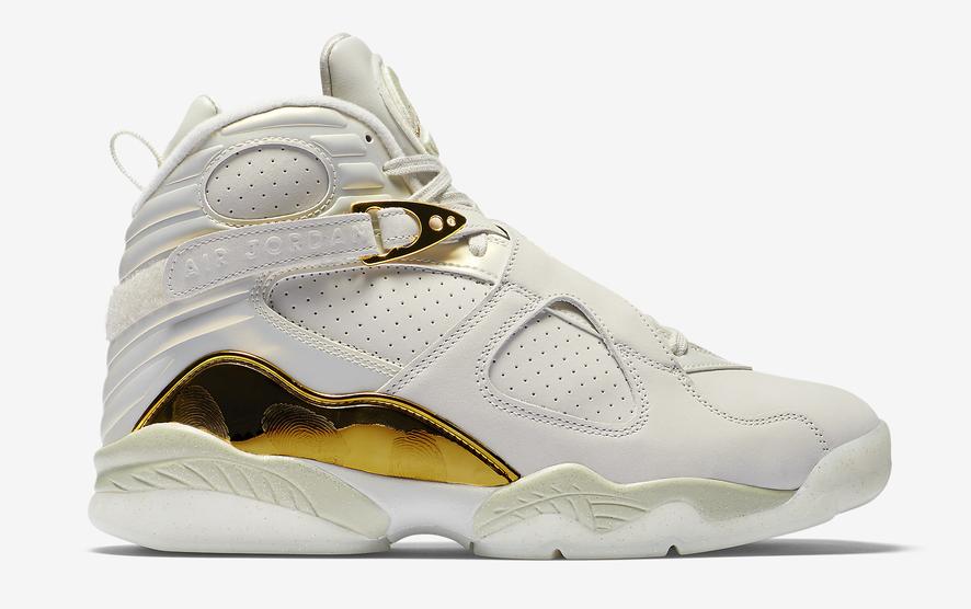 e3c9d39e3523 Nike Air Jordan 8 - Champagne  832821-030. Image 1. Loading zoom