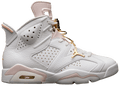 Women's Nike Air Jordan 6 - Gold Hoops #DH9696-100