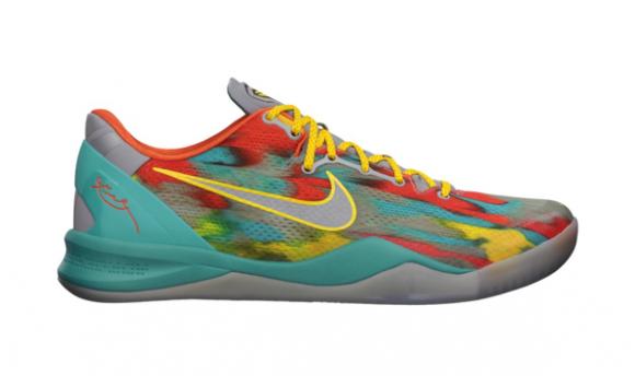 premium selection ca1ff 2ea3a Nike Kobe VIII - Venice Beach  555035-002. Image 1. Loading zoom