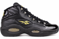 Reebok Question Mid - Black/Gold #V48294