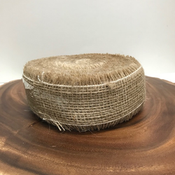 "2"" Natural Jute Ribbon Side Stich"