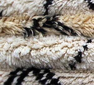 Moroccan Berber Rug Detail