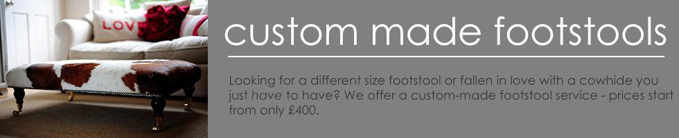 Custom Made Footstools