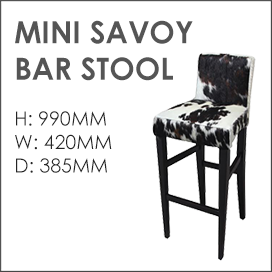 Mini Savoy Bar Stool