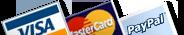 Payment Gateways - Visa, Mastercard, Paypal