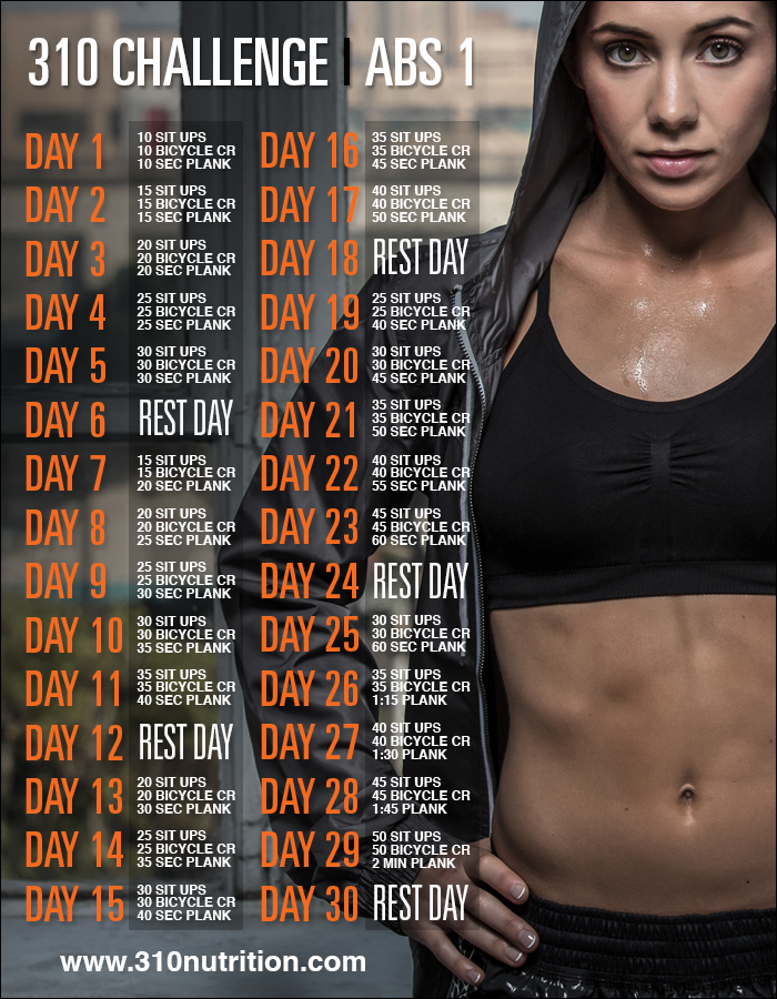 This Challenge Includes A 4Th Exercise To Help Work Your -2781