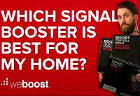 Compare cellular signal boosters for home - A Buyers Guide.