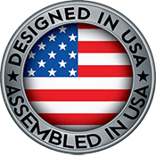 Designed and Assembled in USA