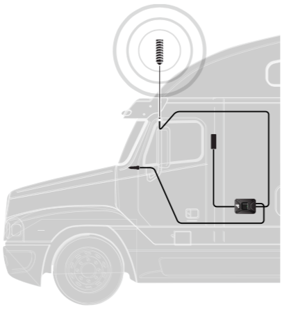 Truck Cell Phone Signal Booster.