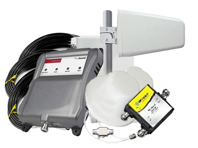 Wilson weBoost Connect 4G-X Home Signal Booster 471104 + 2 Dome Antennae Kit (471104+2DOME)