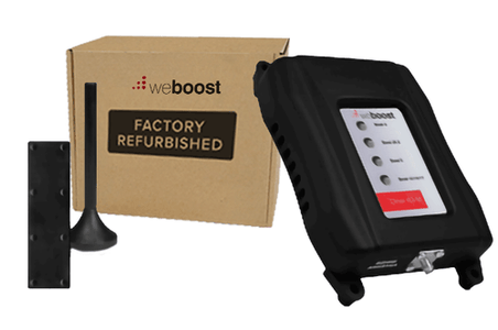 Refurbished weBoost Drive 4G-M Multi User Vehicle Signal Booster | 470108R (470108R-470121R).