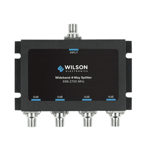 4 Way Splitter (75 Ohm F-Female) | Wilson weBoost 850036