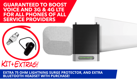 weBoost Home Complete Signal Booster with Surge Protector