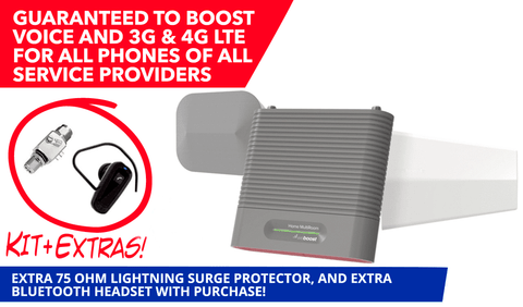weBoost Home MultiRoom Signal Booster with Surge Protector