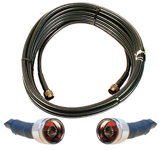 Wilson 952330 - 30 feet Coaxial Cable with N-Male Connectors.