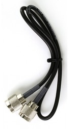 RG58 N-Male/ N-Male 2 ft. Black Cable (weBoost Wilson 951134).