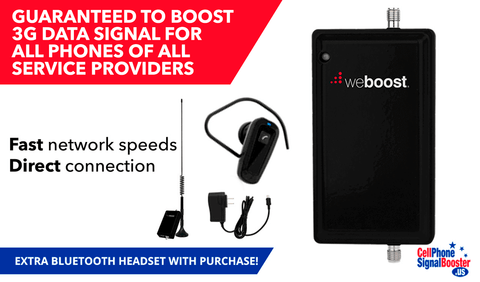 weBoost 3G Signal 470109 kit contents PLUS Bluetooth Headset!
