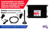 weBoost Signal 4G 470119/ 460119 M2M Signal Booster Kit PLUS Bluetooth Headset!