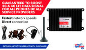 weBoost Signal 4G 470219 M2M Hardwire Signal Booster Kit (Wilson 460219) PLUS Bluetooth Headset.