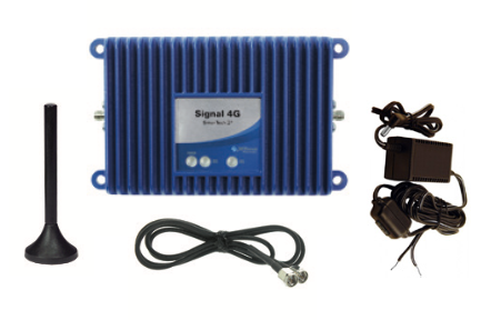 Complete Wilson 460219 Signal 4G Booster Kit with Hardwire Accessory for M2M Applications.