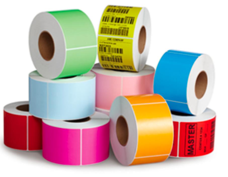 Zebra Printer COLOR Labels | Orange, Blue, Pink, Green, Red