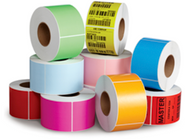 "Zebra ZT230 and ZT220 Yellow Thermal Transfer Labels  (Blue, Green, Orange, Pink, Yellow) 4"" x 6"""
