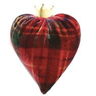 Tartan Velvet Heart