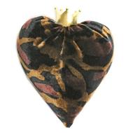 Leopard Velvet Heart