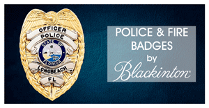 custom police badges blackinton