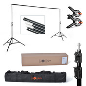 2.4x3m Background Support Stand | Holds 10kg