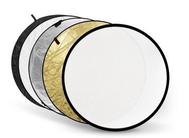 A view of all the colours of the reflector.