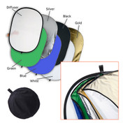 7 in 1 Multi Reflector | Oval | 100x150cm