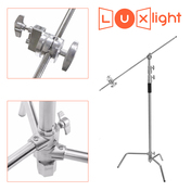 C-Stand with 125cm Extension Arm | LuxLight | 150-300cm height