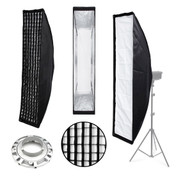 35x140cm Strip Softbox | Bowens Fit