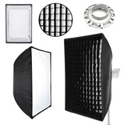 Multi view image showing all the softbox parts