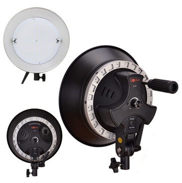 Multiple views of the LED light from rear, side rear and front