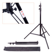 Studio Light Stand & Carry Bag | Spring Cushion | 2.6m