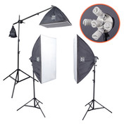 Studio Softbox Lighting Kit | PhotoGeeks - S52.5 | 1775w |Continuous Photography