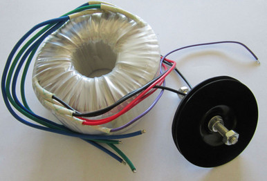 AN version does not have shielding material or purple wire