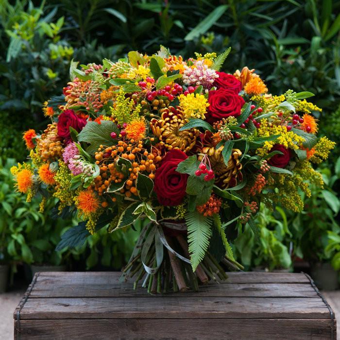Indian Summer Bouquet Moyses Stevens Flowers