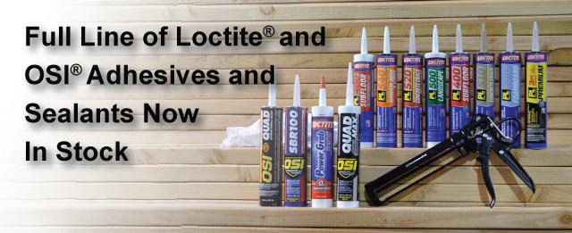Construction Adhesives and Sealants