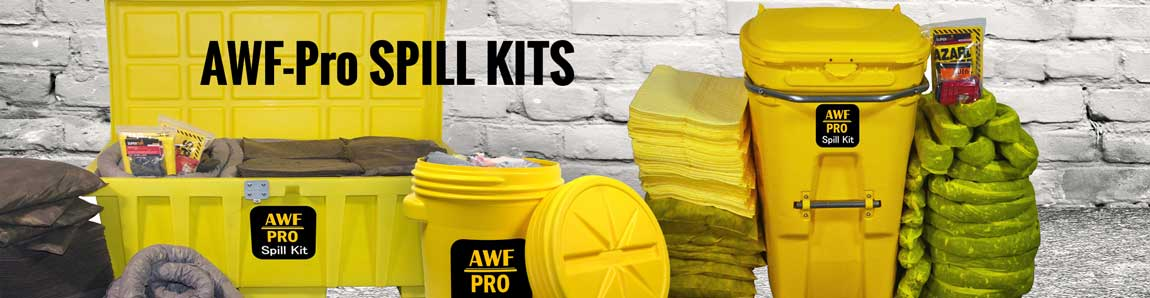 Spill Kits available in a full range fo sizes