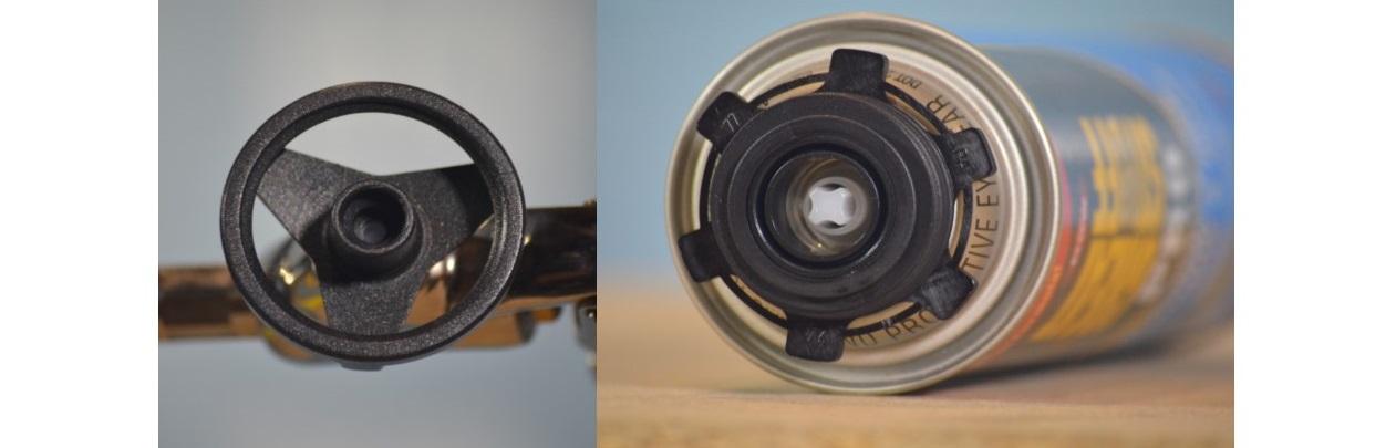 Foam Gun, Basket/Can Detail