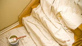how to choose the right drop cloth