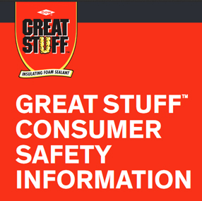 Dow Great Stuff Consumer Info