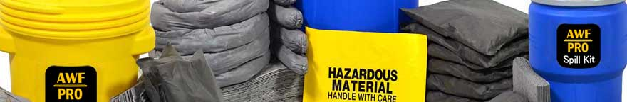 We have the size and type spill kits to fill your needs.